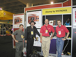The Systronix/Chaeron JavaOne 02 Team